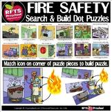 FIRE SAFETY SCENE (SEARCH & BUILD) ICON DOT PUZZLES #Dista