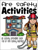 FIRE SAFETY WEEK ACTIVITY PACK