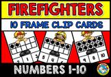 FIRE SAFETY KINDERGARTEN MATH (TEN FRAMES ACTIVITY)