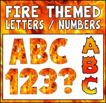 FIRE THEME DISPLAY LETTERING TEACHING RESOURCES LETTER BONFIRE NIGHT FIREWORK