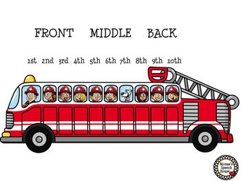 FIRE TRUCK POSTER ACTIVITY