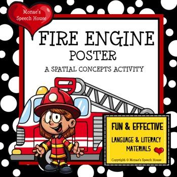FIRE TRUCK POSTER ACTIVITY