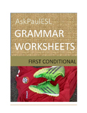 TEFL/ESL FIRST CONDITIONAL