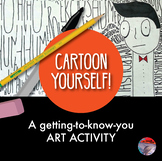 [ART ACTIVITY]  Cartoon Yourself Drawing
