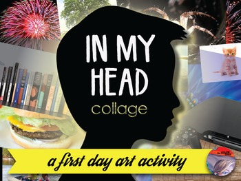 ART ACTIVITY  - In My Head Collage