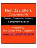 FIRST DAY JITTERS | BACK TO SCHOOL | activities, games,  centers