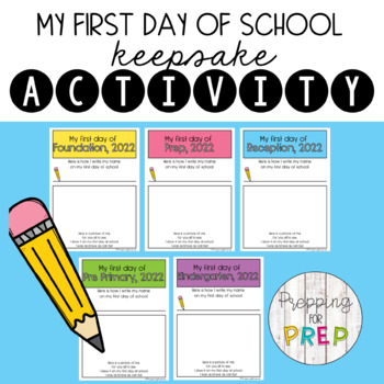 FIRST DAY OF PREP ACTIVITY