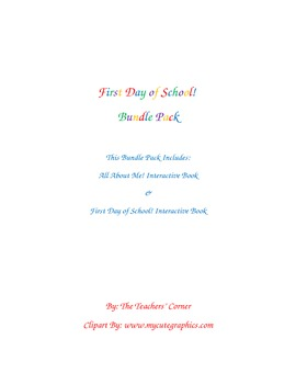 First Day of School! Bundle Pack