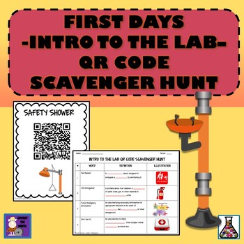 FIRST DAYS  - INTRO TO THE LAB – QR CODE SCAVENGER HUNT
