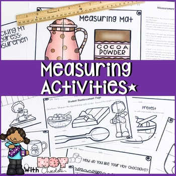 1 WEEK COMPLETE MEASUREMENT AND COMPARING LENGTHS UNIT HOT CHOCOLATE THEME