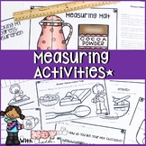 MEASURING WORKSHEETS, ACTIVITIES, GAMES, LESSONS PLANS AND MORE