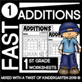 First Grade Addition Squares