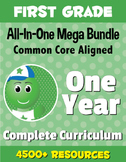 FIRST GRADE All-In-One *MEGA BUNDLE* {1 Year Complete Curr
