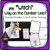 HALLOWEEN PROBLEM SOLVING WITH NUMBER LINES ACTIVITIES, LESSON PLANS, AND MORE