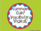 FIRST GRADE Vocabulary Cards