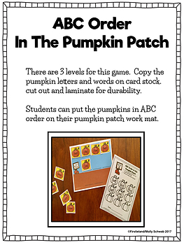 November and Thanksgiving Centers for Math and Literacy