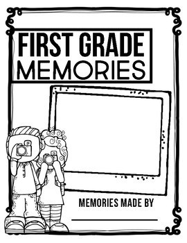 FIRST GRADE MEMORY BOOK - 50% OFF TODAY ONLY