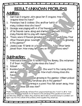 FIRST GRADE Math Strategy Group Lessons- UNIT 3