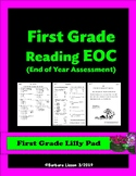 FIRST GRADE NO-PREP End of Year Reading Assessment
