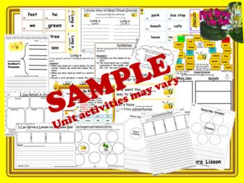 FIRST GRADE Reading Street Centers and Printables SuPeR MEGA BUNDLE UNITS 1-5