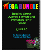 FIRST GRADE Reading Street Centers and Printables SuPeR ME