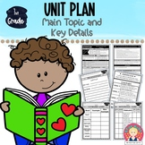 FIRST GRADE UNIT {Main Topic and Key Details ~ RI.1.2; RI.1.1}