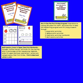 DISTANCE LEARNING nHandwriting Practice Curriculum for Special Education