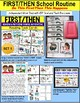 """FIRST/THEN Board Task Cards For Autism """"Task Box Filler"""""""