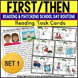 "FIRST/THEN Board Task Cards For Autism ""Task Box Filler"""