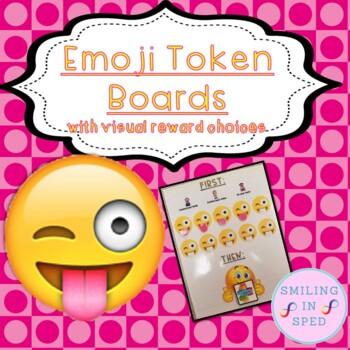 First/Then Token Board- EMOJI FACES