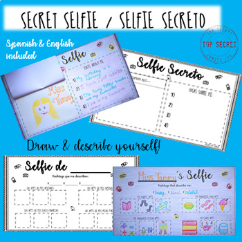 SECRET SELFIE - back to school SPANISH