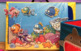 FISH BOOK & GIANT OCEAN POSTER Pre-K Speech Therapy Early Reader