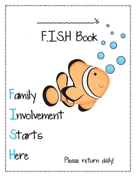 F.I.S.H. Binder Cover Page