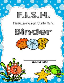 FISH Binder Covers