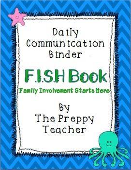 FISH Book Daily Communication Binder