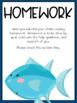 FISH Communication Binder -  Editable
