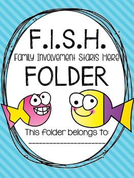 F.I.S.H. Folder {Family Involvement Starts Here} Parent Co