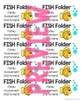 FISH Folder Labels (for take home or homework folders)
