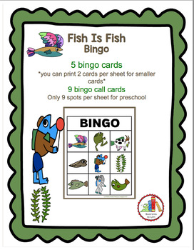 FISH IS FISH-- BINGO