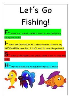 FISH - Maths Problem Solving Poster