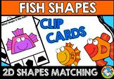 FISH SHAPES CENTER (KINDERGARTEN GEOMETRY ACTIVITIES)