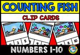 FISH THEME ACTIVITIES (KINDERGARTEN PRINTABLES) FISH COUNT