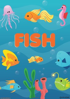 FISH UNIT - TODDLER CURRICULUM