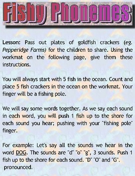 FISHY PHONEMES