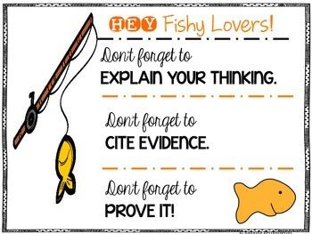 FISHY Reading Skills Comprehension Helper
