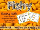 FISHY Reading Skills Comprehension Helper