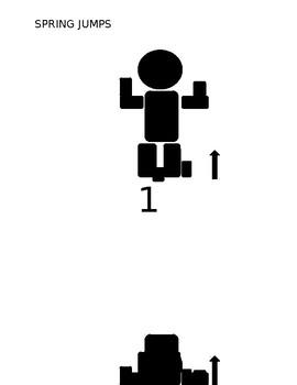 FITNESS BINGO CHALLENGE SPRING JUMPS