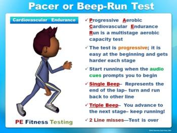 PE Fitness Testing- Printable Display Signs