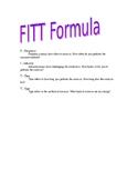 FITT Formula Outline