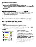 FITT Principle PowerPoint Notes